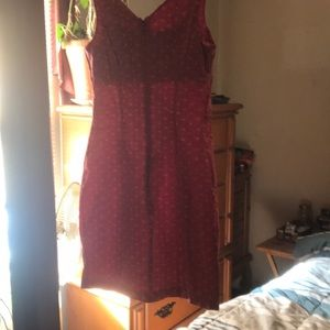 Adorable red dress from Express